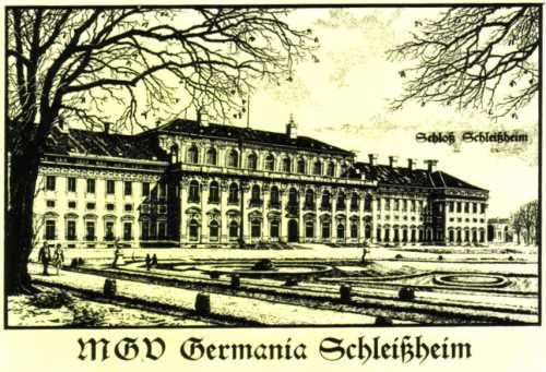 Kurzchronik des Gesangvereins Germania